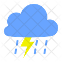 Bolt Light Rain Icon