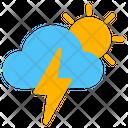 Weather Thunder Storm Icon