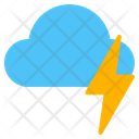Weather Thunder Storm Icon