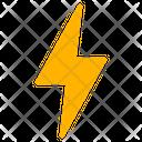 Weather Light Thunder Icon
