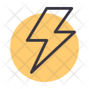 Thunder Lightning Flash Icon