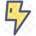 Flash Thunder Storm Icon