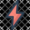Thunder Light Web Icon