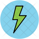 Thunder Flash Sign Icon