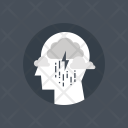 Thunder Thinking Sadness Icon