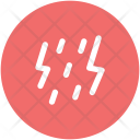 Thunder Stormy Rain Icon