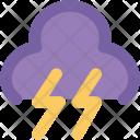 Thunder Bolt Lightning Icon