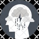 Thunder Thinking Sadness Icon