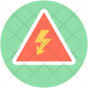 Thunder Alert Lightening Icon