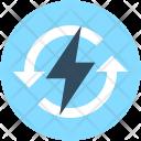 Thunder Power Bolt Icon