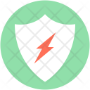 Thunder Protection Safety Icon