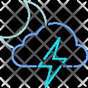 Thunder Storm Thunderstorm Icon