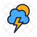 Thunder And Sun Icon