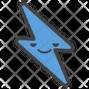 Thunder Emoji Icon