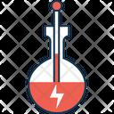 Thunder On Beaker Icon