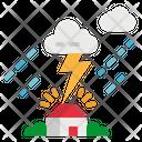 Thunder On House Icon