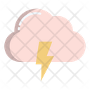 Storm Cloud Thunder Icon