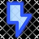 Lightning Rain Rainy Icon