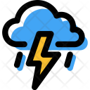 Thunder Storm Weather Icon