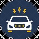Thunder With Carm Automated Autonomous Car Icon