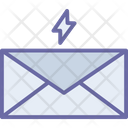 Thunder With Email Icon