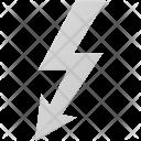 Thunderbolt Symbol Plug Icon