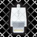 Thunderbolt Lightning Apple Icon