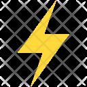 Power Energy Thunderbolt Icon