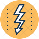 Reaction Thunder Sign Icon
