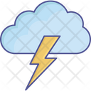 Flash Sign Lightning Thunder Icon