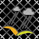 Thunderstorm Hills Rain Icon
