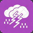 Thunderstorm Thunder Cloud Icon