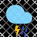 Thunderstorm Lightning Rain Icon