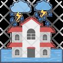 Thunderstorm Severe Storm Rain Storm Icon