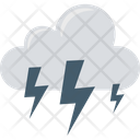 Thunderstorm Thunder Cloud Thunder Icon