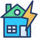 Thunderstorm Natural Disaster Apocalypse Icon