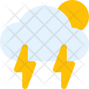 Thunderstorm Day Cloud Icon