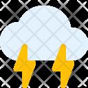 Thunderstorm Cloud Thunder Icon