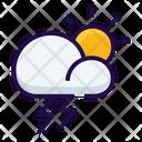 Lightening Thunderstorm Storm Icon