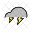 Cloud Thunderstorm Weather Icon