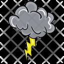 Lighting Shower Thunderstorm Lighting Storm Icon