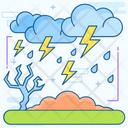 Weather Lightning Lightning Bolts Thunder Bolt Icon