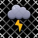 Lightning Weather Sky Icon