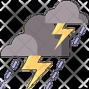 Thunderstorm Storm Lightning Icon