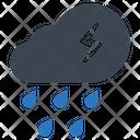 Cloud Rain Precipitation Icon