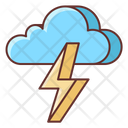 Thunderstorm Bolt Lightning Icon