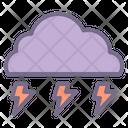 Storm Thunder Stormy Icon