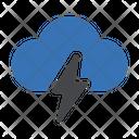 Cloud Storm Nature Icon