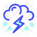 Storm Cloud Weather Icon