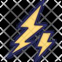 Thunder Storm Flash Icon